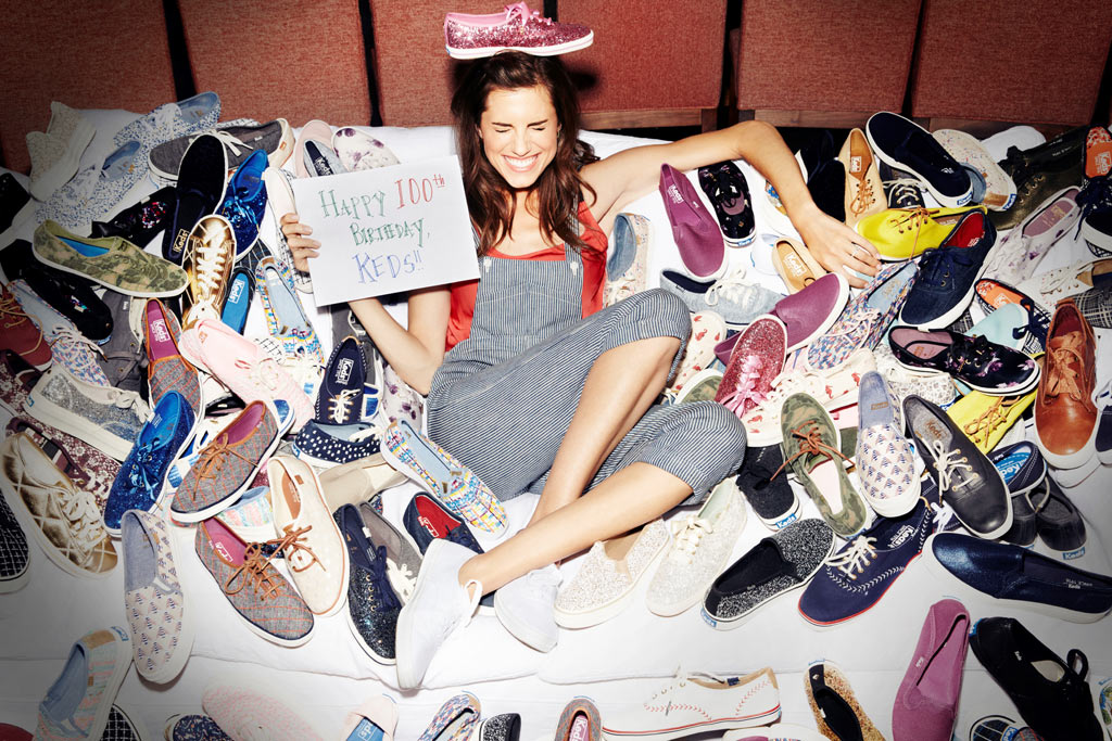 Allison Williams For Keds At 100