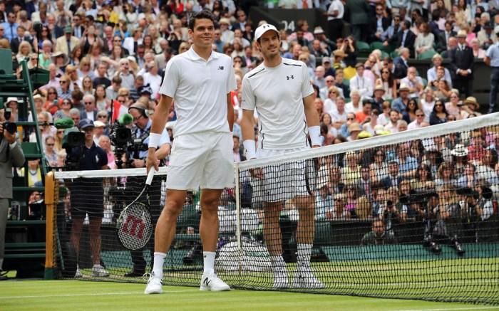 andy murray wimbledon tennis mils raonic under armour adidas