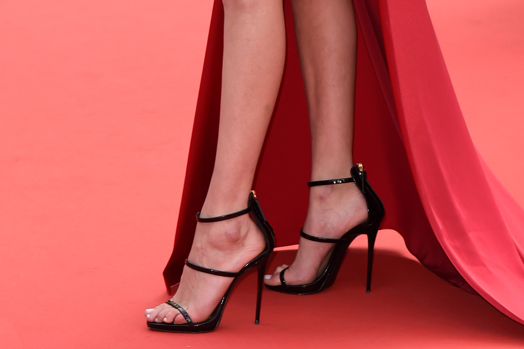 Celebrities Wearing Giuseppe Zanotti Shoes