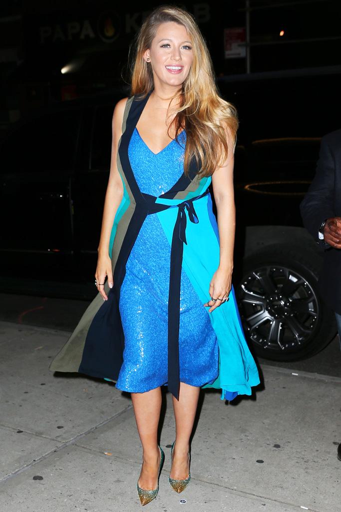 Blake Lively Celebrity Statement Shoes July 2016
