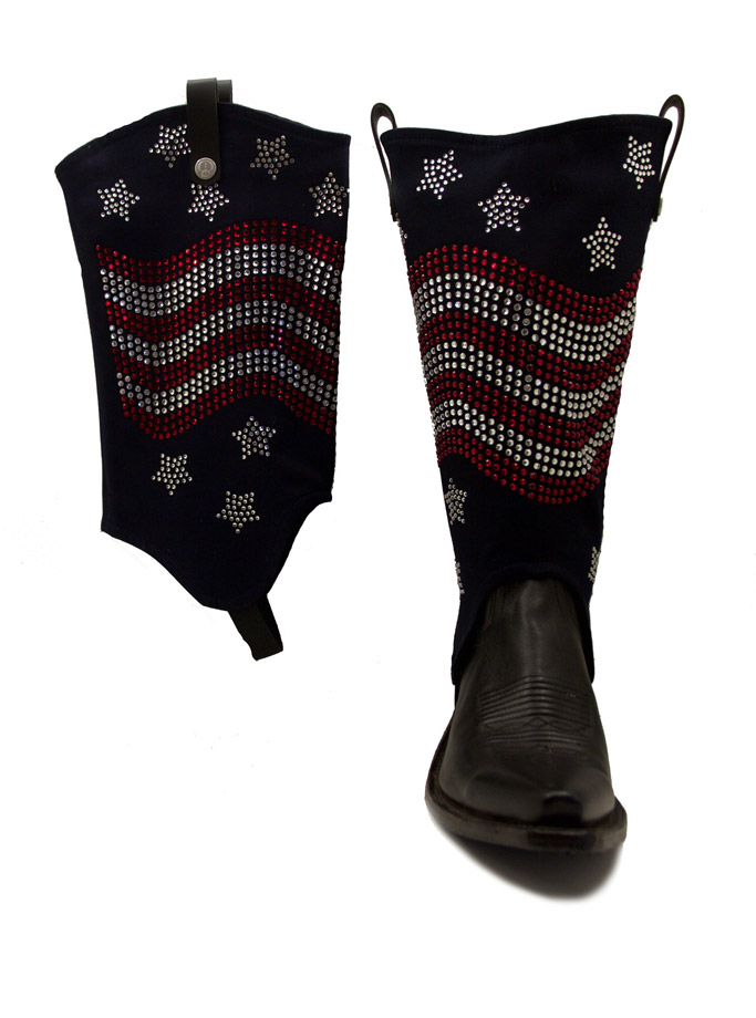 BootRoxx boot cover slip on accessories fourth of july