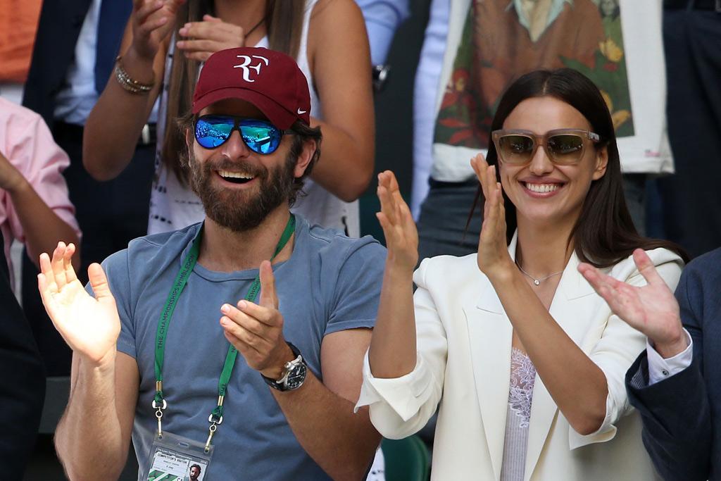 Bradley Cooper Irina Shayk Wimbledon 2016