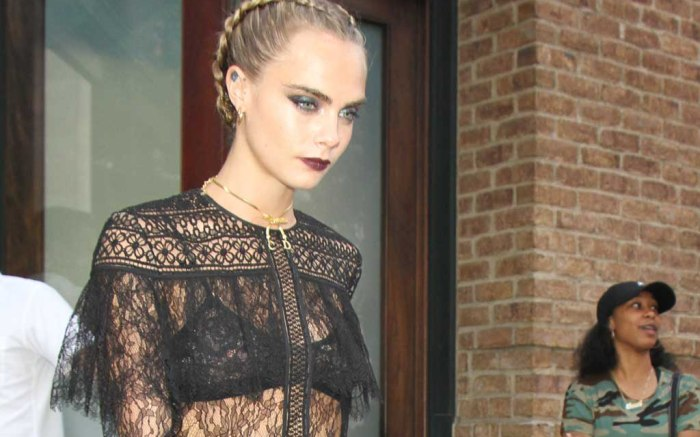 Cara Delevingne christian louboutin louise boots