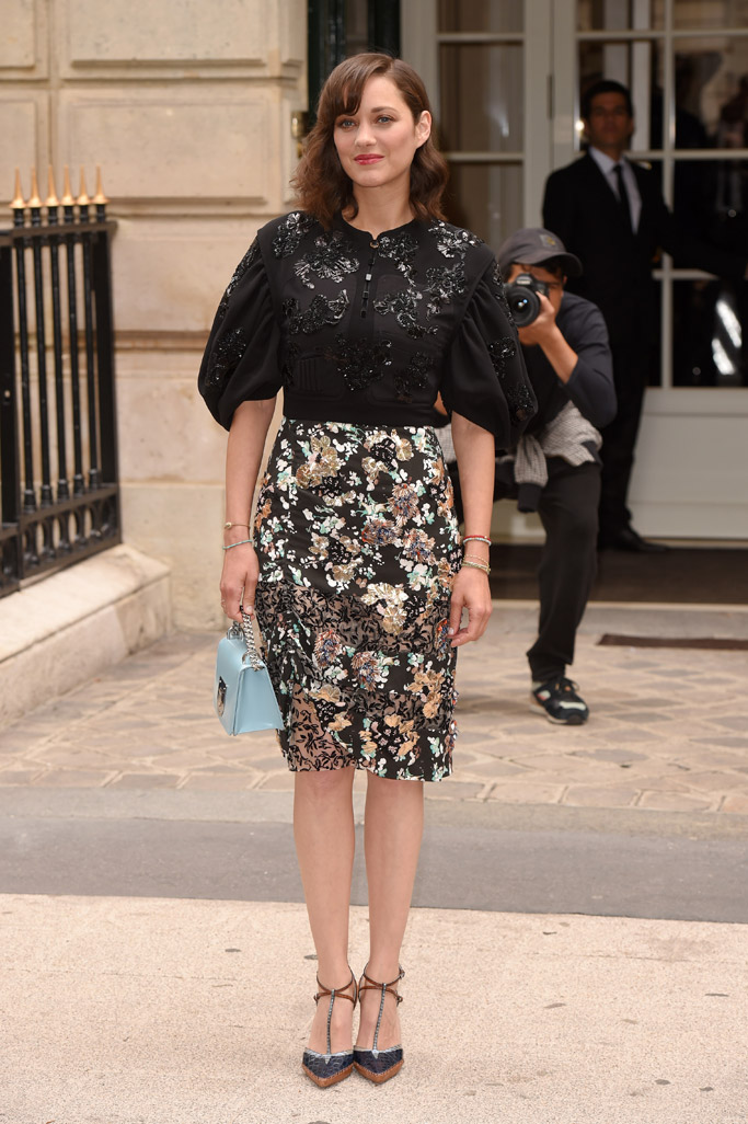 Celebrities Couture Fashion Week Paris