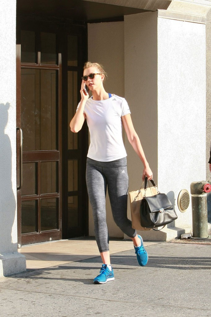 Karlie Kloss Celebrity Sneakers Style