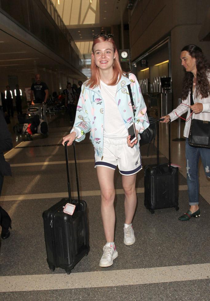 Celebrities White Sneakers Alexander McQueen