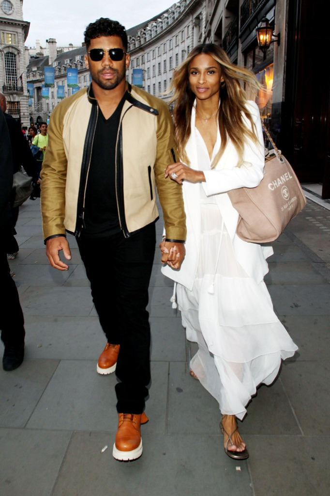Russell Wilson Ciara Wedding London