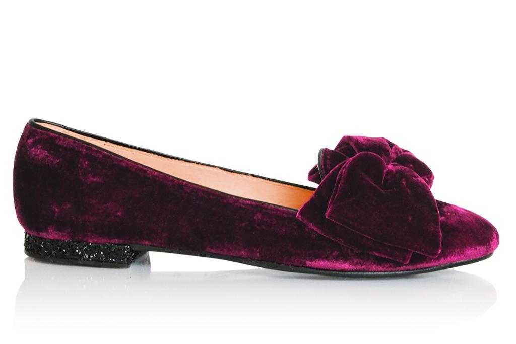 Chatelles velvet loafer