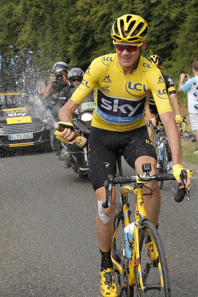 chris froome tour de france cycling sidi shoes winner