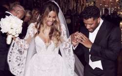 Ciara Marries Russell Wilson in Giuseppe