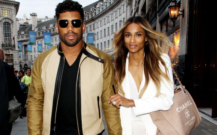 Russell Wilson Ciara Wedding London