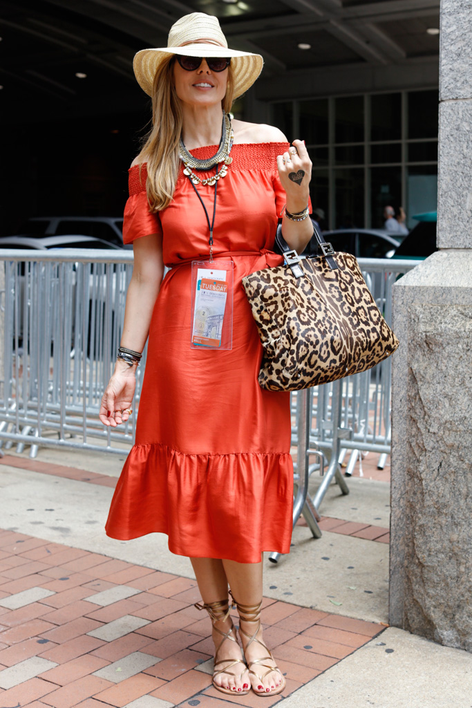 DNC Democratic Convention Philadelphia Street Style