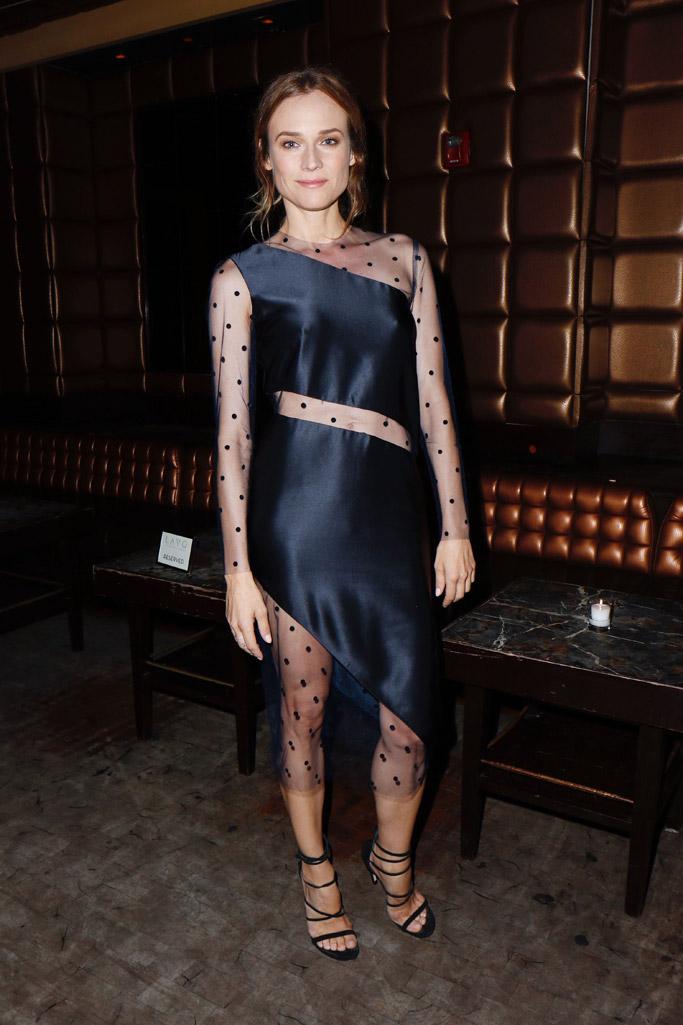 Diane Kruger Celebrity Statement Shoes July 2016