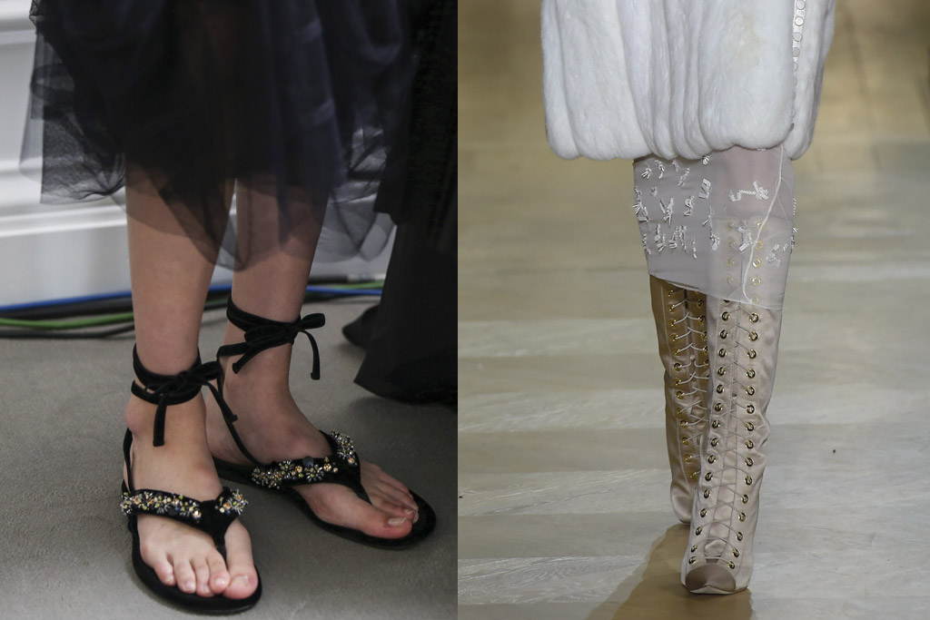Top Shoes From Paris Couture Fashion Week 2016