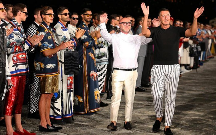 Dolce Gabbana Alta Moda Show Naples Italy