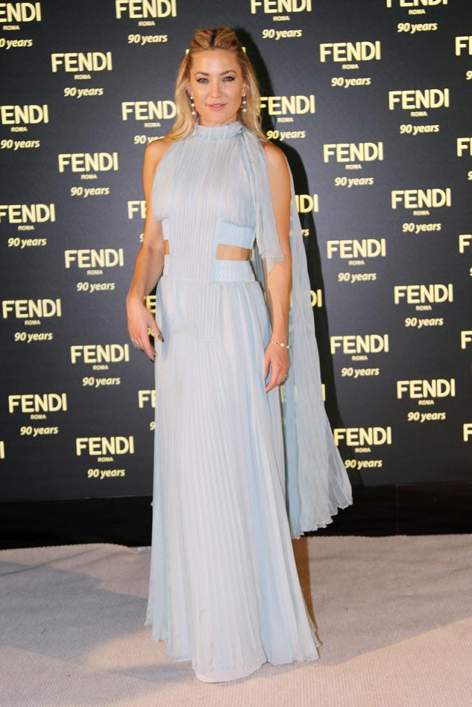 Kate Hudston Fendi Party Rome