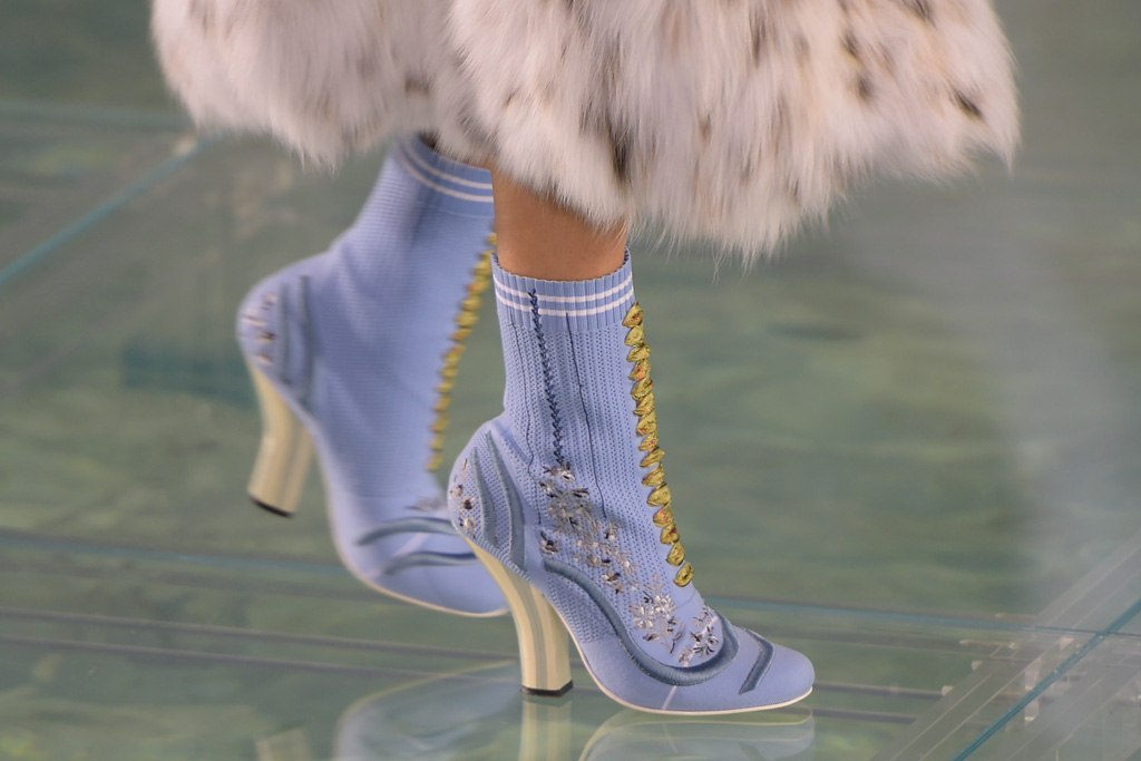 Fendi Couture Fall 2016 Collection Shoes