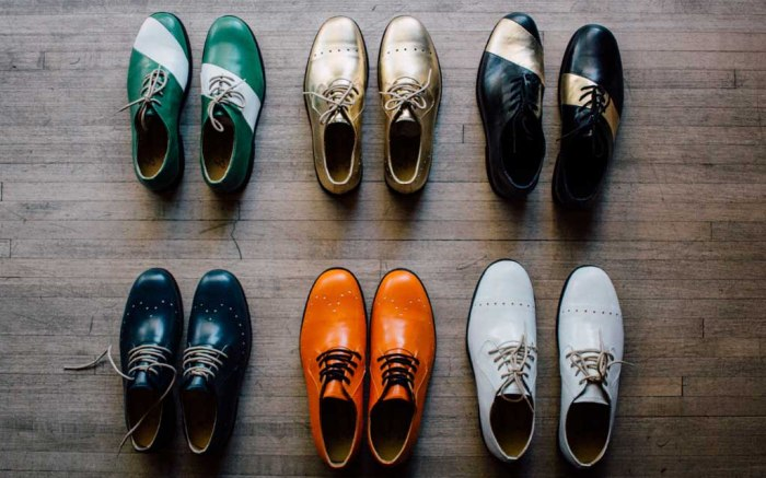 George Esquivel The Spare Room bowling shoes