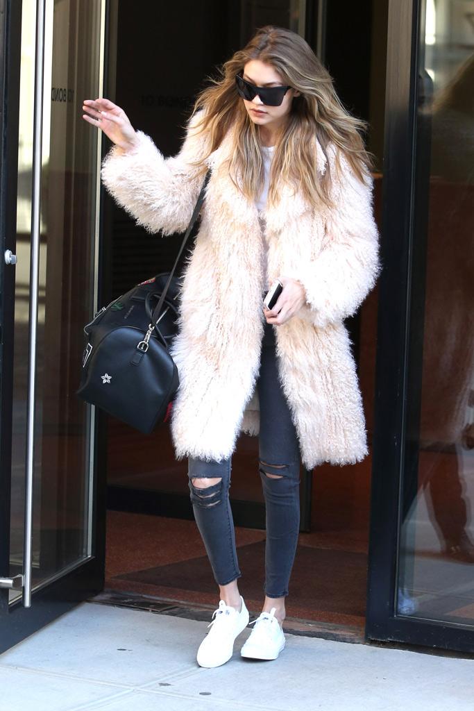 Gigi Hadid Converse
