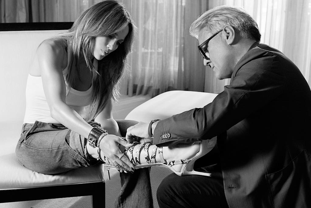 Giuseppe Zanotti Jennifer Lopez Shoe Collection