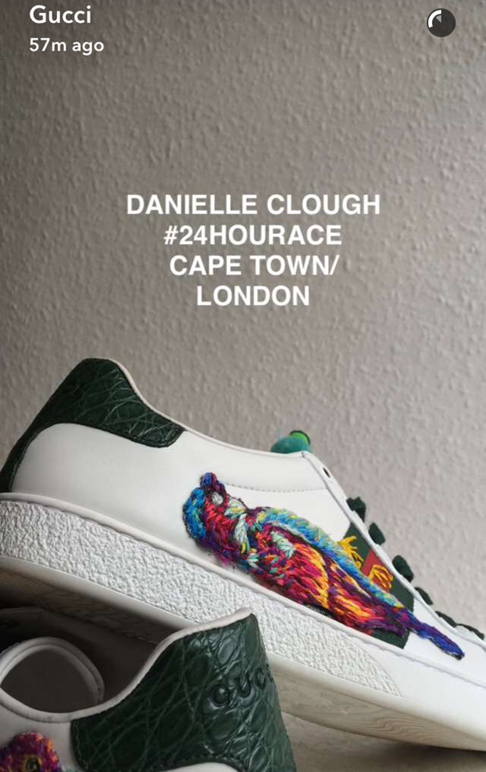 Gucci #24HourAce Sneakers