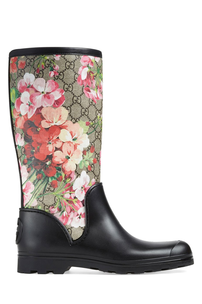gucci rain boot