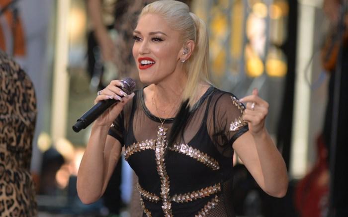 Gwen Stefani Today Show Performance