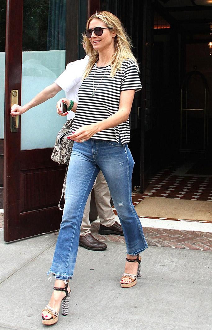 Heidi Klum Lanvin Sandals
