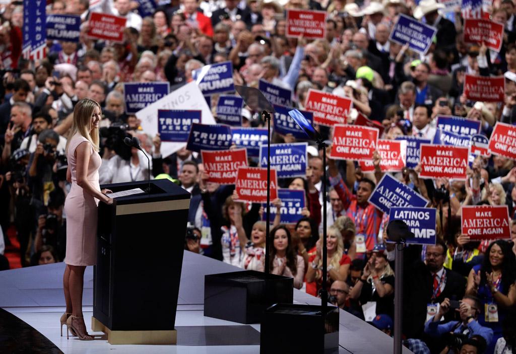 ivanka trump donald rnc republican convention stuart weitzman