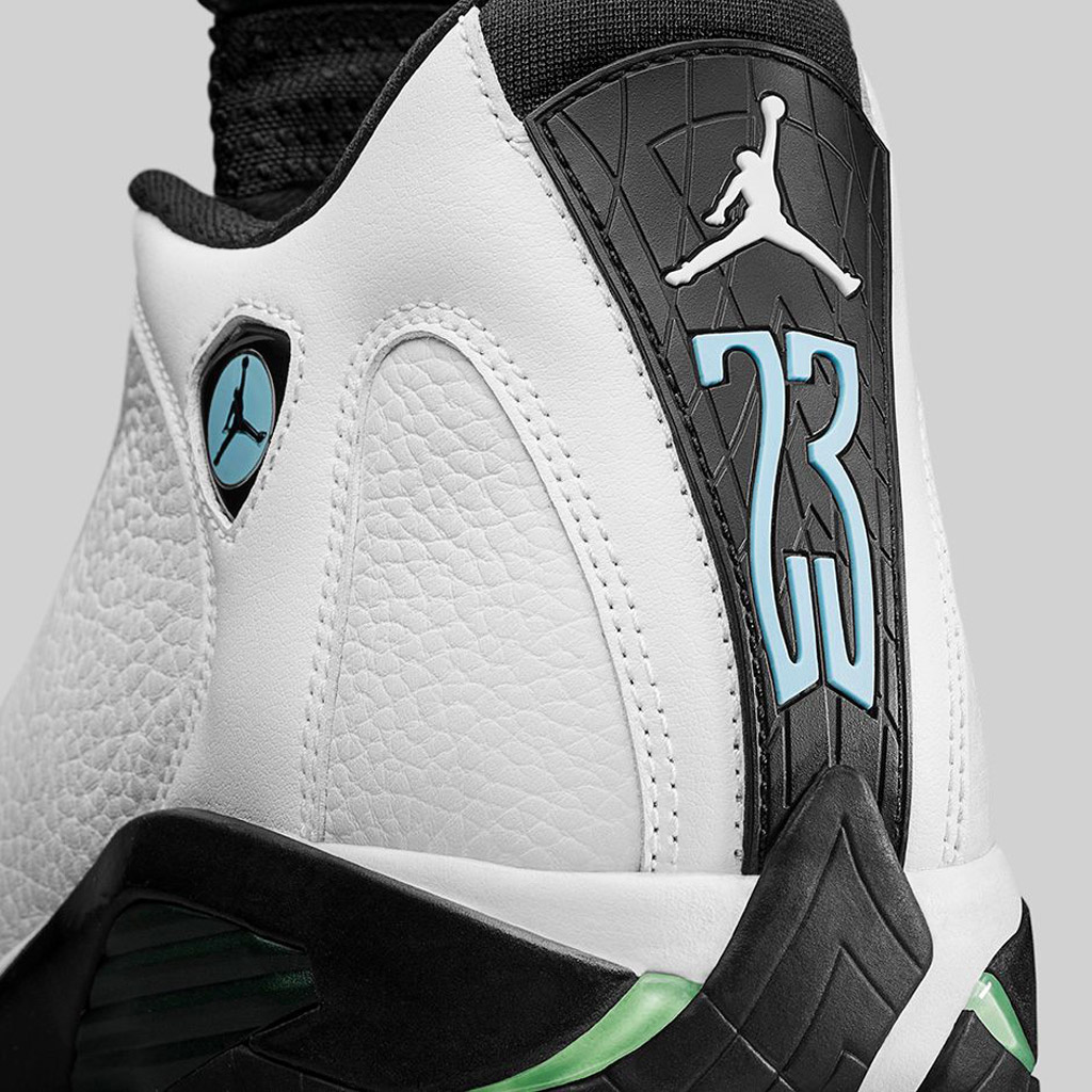 Air Jordan 14 Retro Oxidized Green