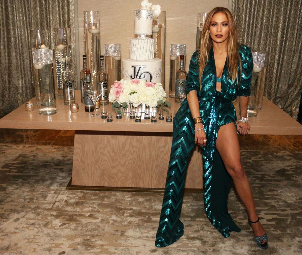 Jennifer Lopez Las Vegas Birthday Party