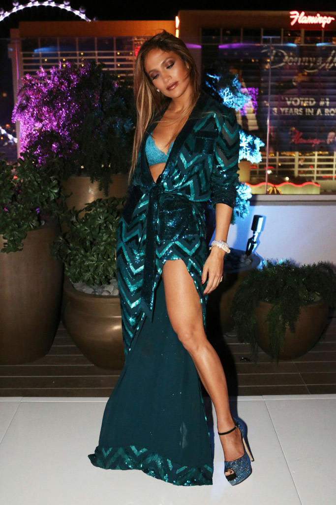 Jennifer Lopez Las Vegas Birthday Party
