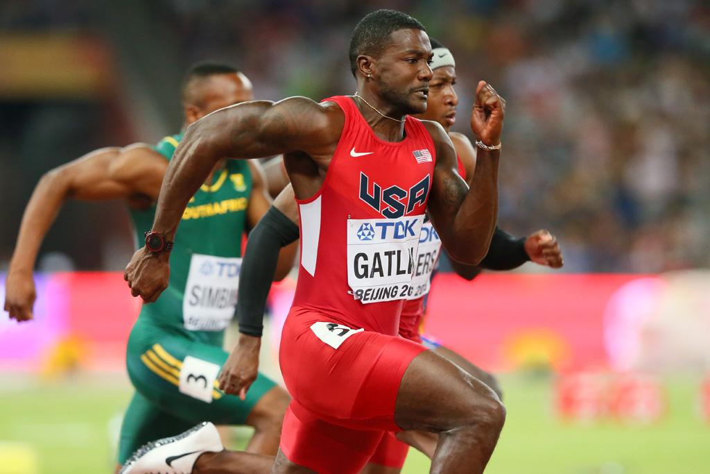 Justin Gatlin Nike Sprinter