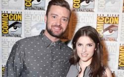 Justin Timberlake Anna Kendrick Comic-Con 2016