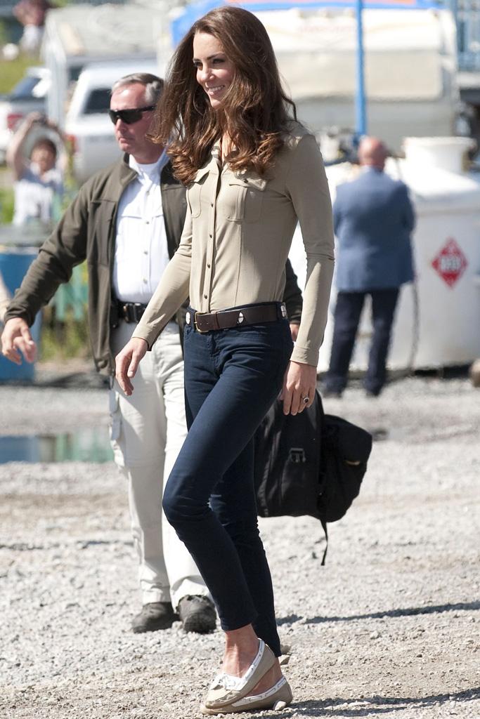 Kate Middleton Prince William Royal Trip Canada 2011