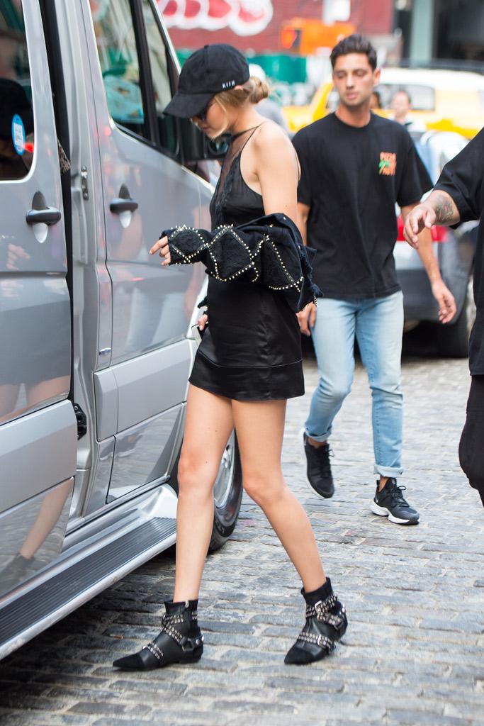 Kendall Jenner Gigi Hadid New York Panorama Festival