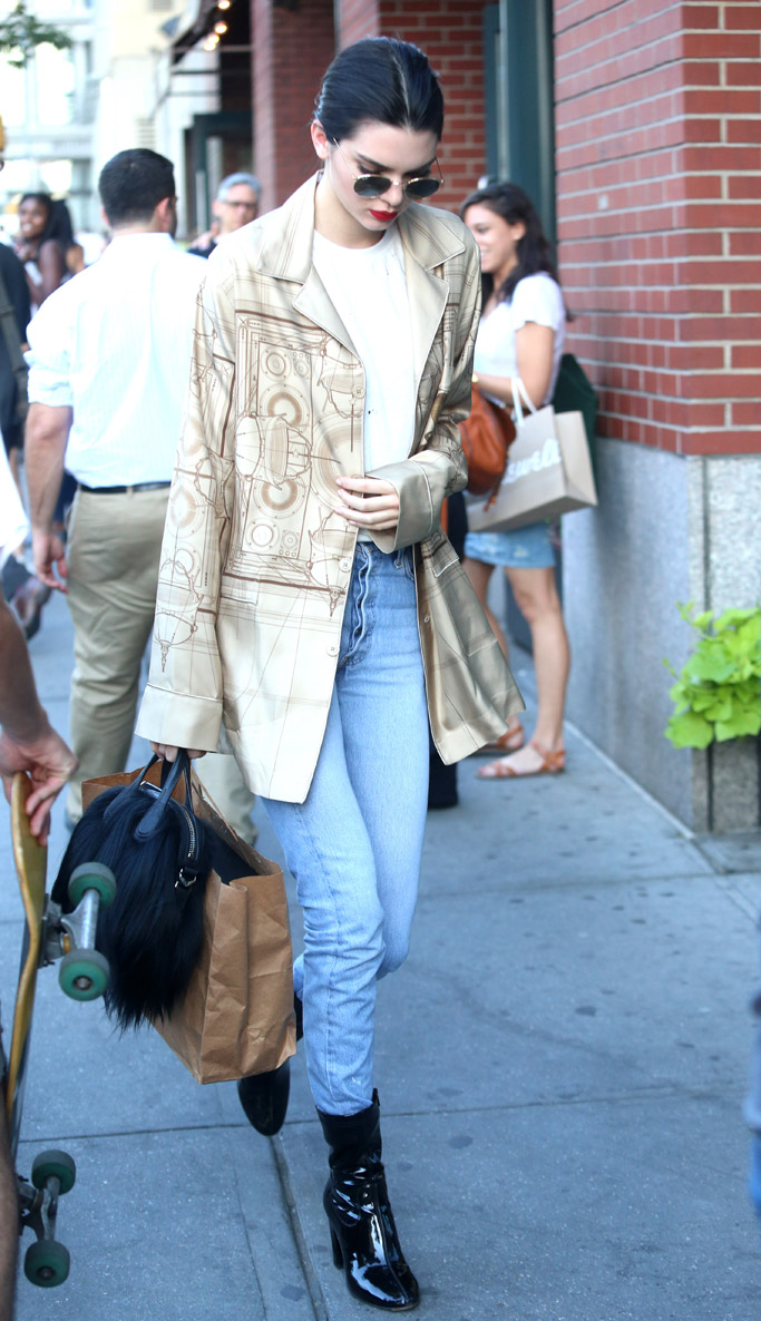 Kendall Jenner Kenneth Cole Boots