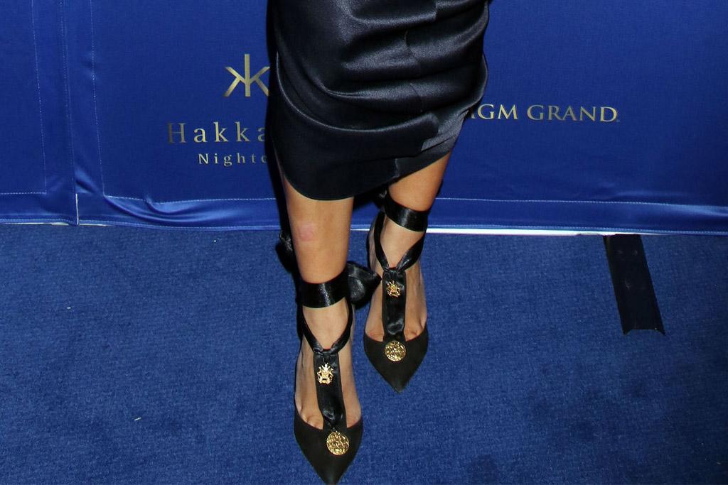 Kim Kardashian Celebrity Statement Shoes July 2016