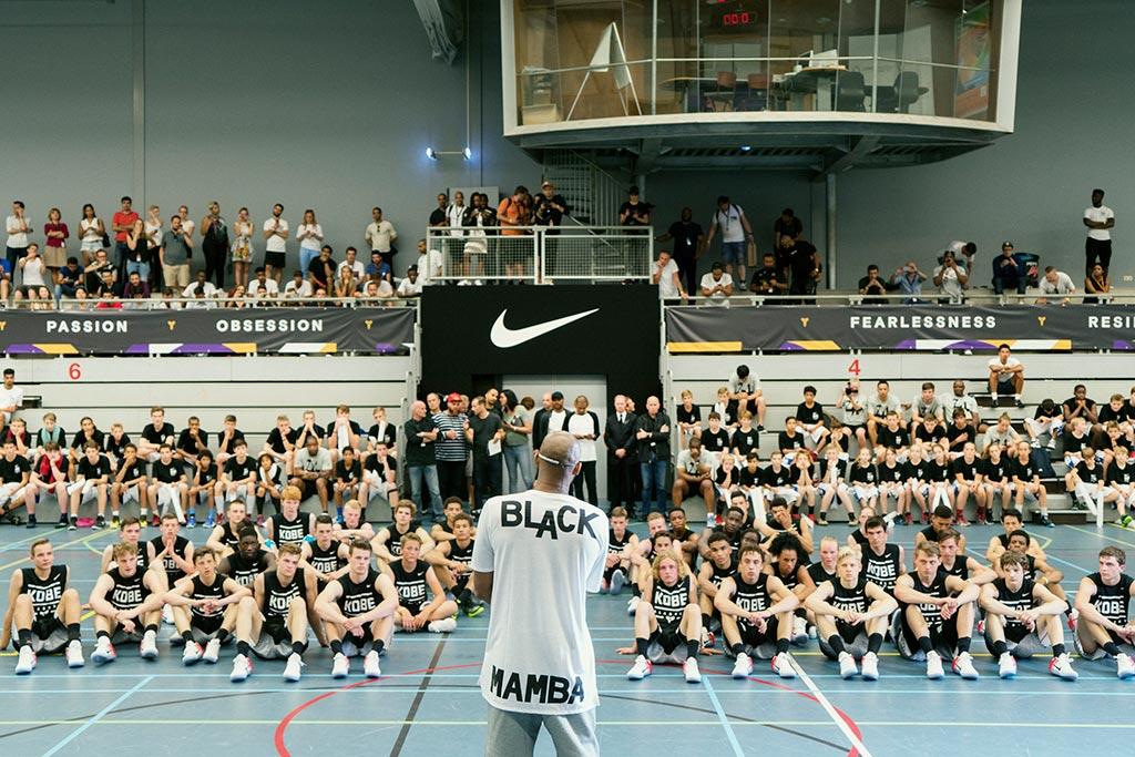 Kobe Bryant In Europe