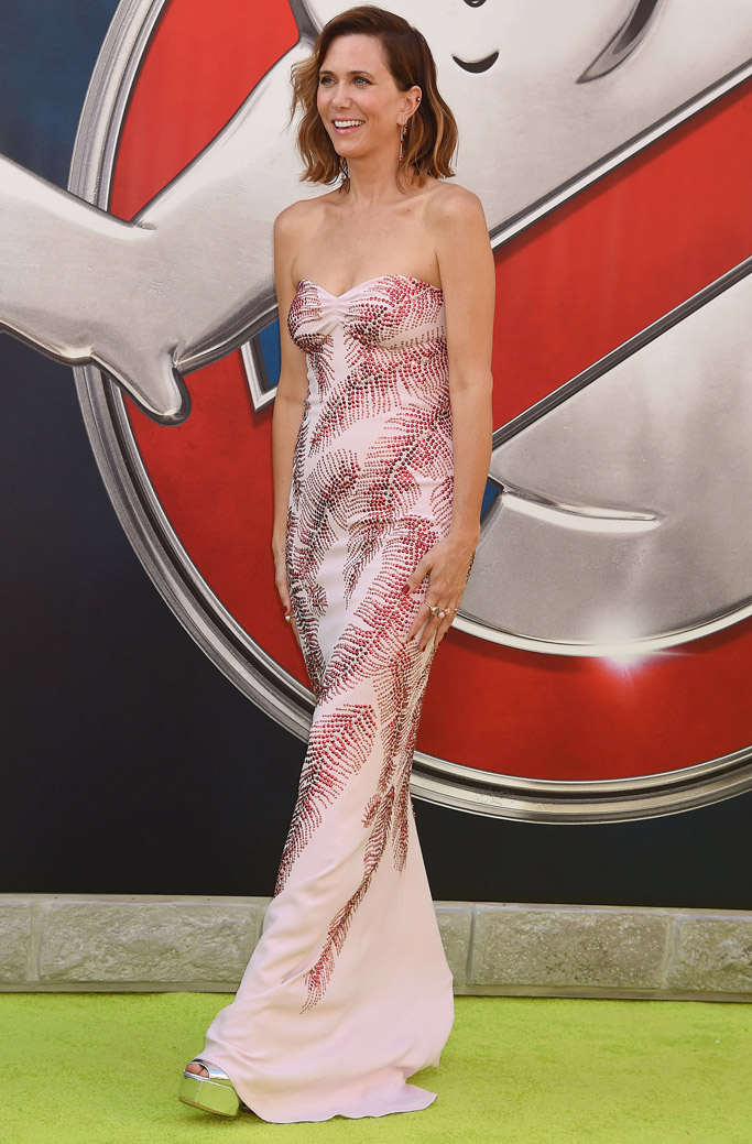 Kristen Wiig Celebrity Statement Shoes July 2016