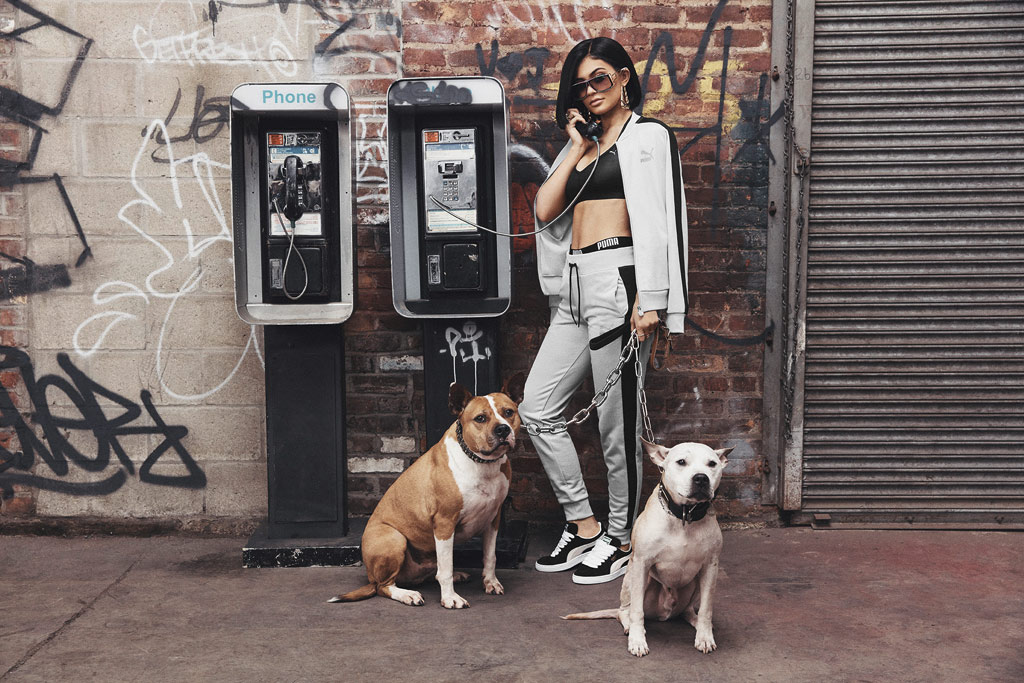 Kylie Jenner Puma Suede Campaign