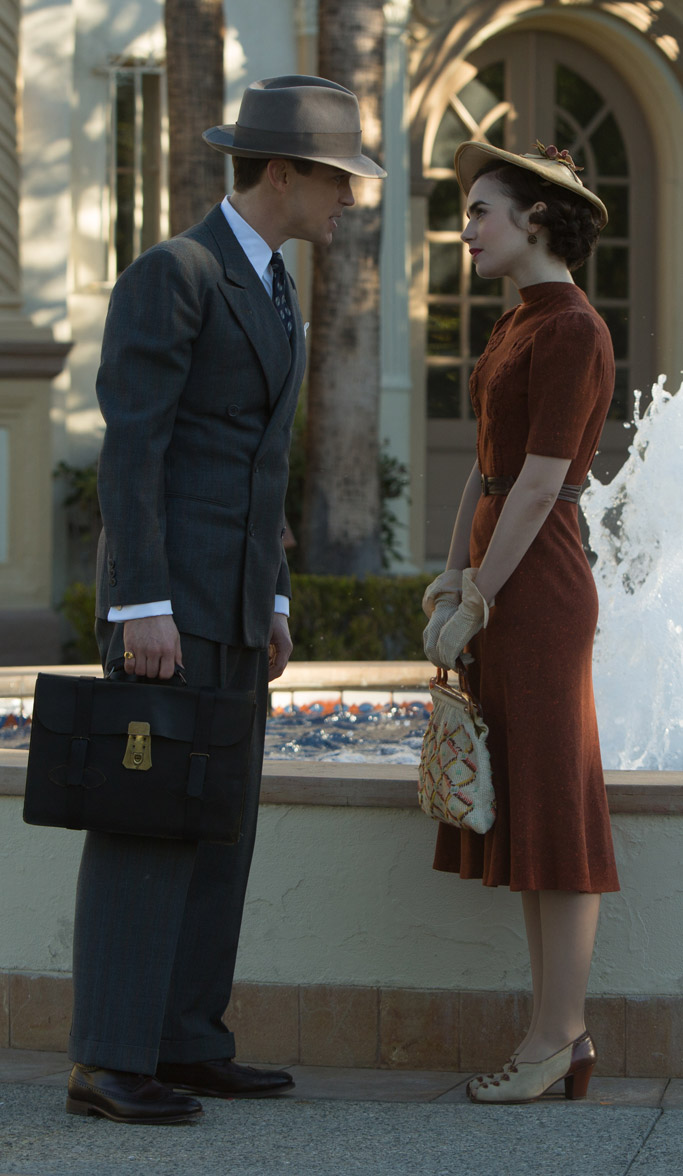 lily collins the last tycoon