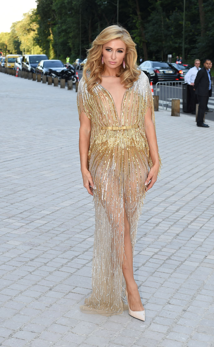Paris Hilton The Art of Giving Love Ball Paris