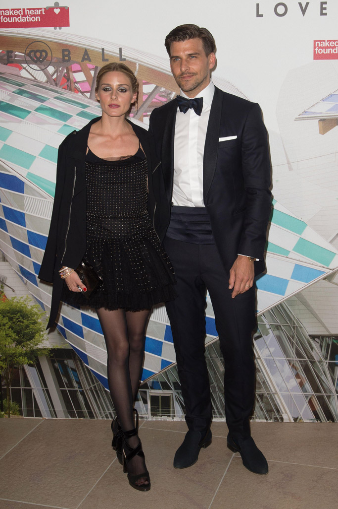 Olivia Palermo The Art of Giving Love Ball Paris