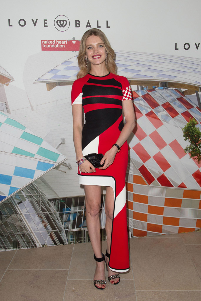 Natalia Vodianova The Art of Giving Love Ball Paris