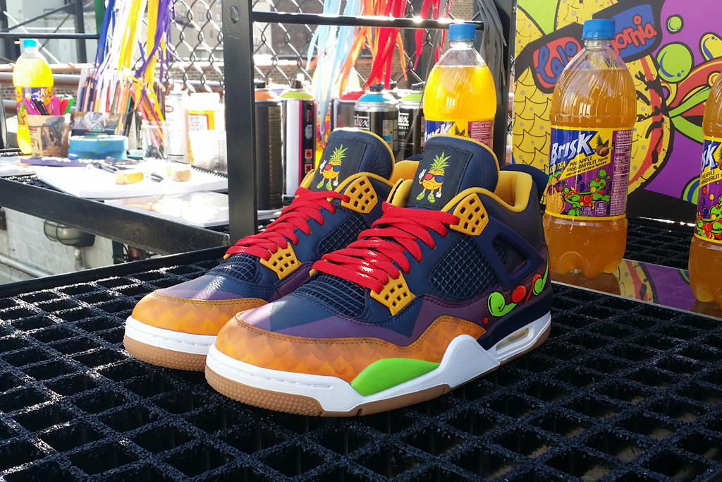 Mache Brisk Air Jordan 4