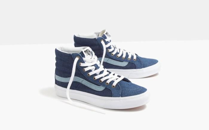Madewell Vans Denim Sneakers