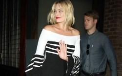 Margot Robbie Celebrity Statement Shoes July