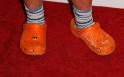 mario batali crocs orange shoes clogs
