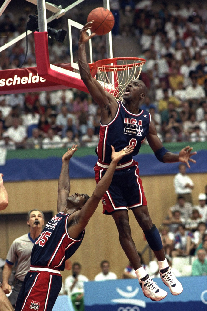 Michael Jordan Dream Team Olympics